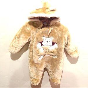 Disney Winnie the Pooh Bear Onesie Costume